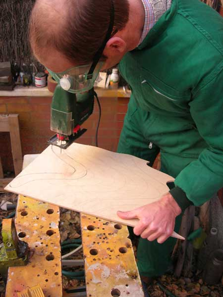 Zarmov en madera 4mm